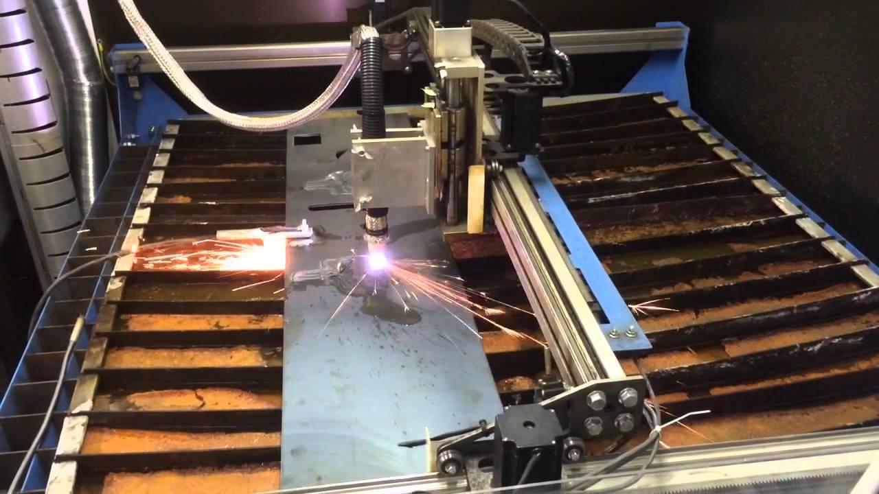 CNC plasma cutting